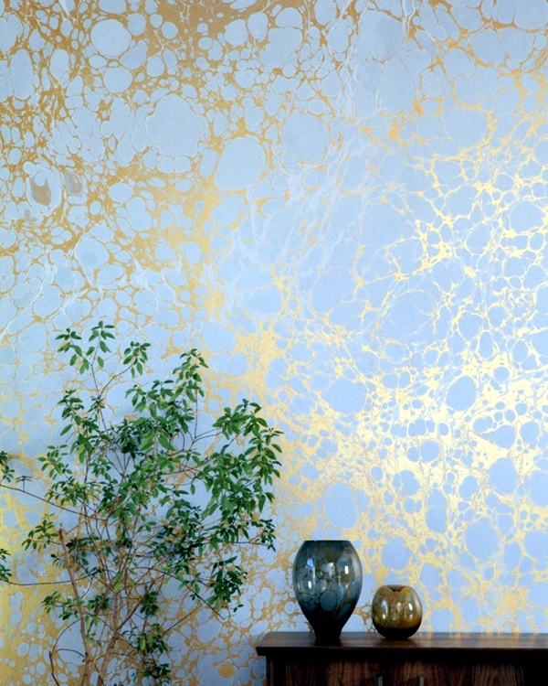 Designer Wallpaper Ideas Photos: Two Creative Ideas For Wallpaper Designs With Marble