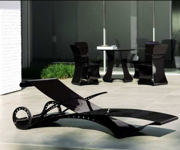 Ultra modern lounge chair designs for an exclusive device Patio