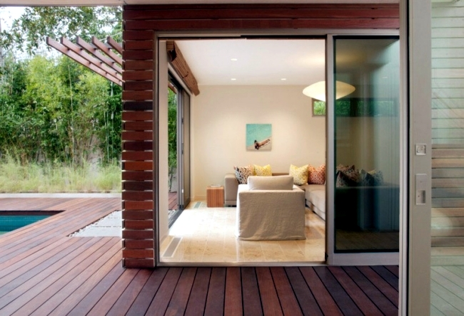 Umwelfreundliches house design as a model for sustainable architecture