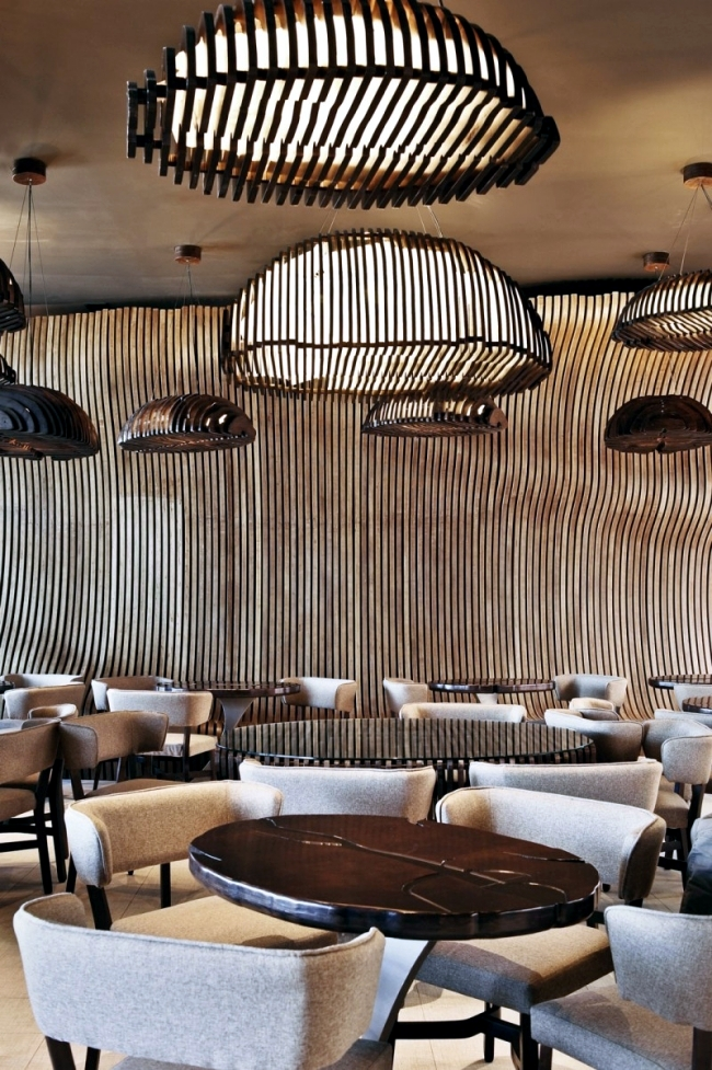 """Unique interior design of the cafe """"Cafe Don"""" of Innarch"""