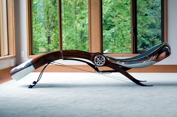 Unusual Relaxliege the highest quality craftsmanship