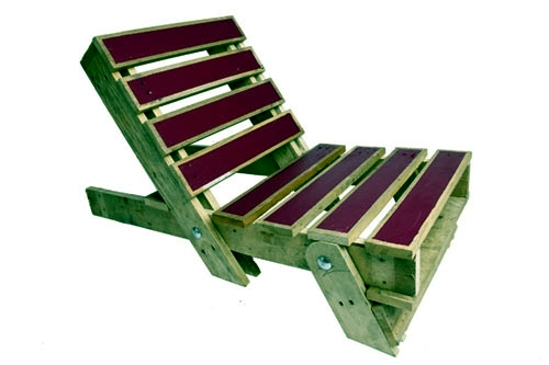 Upcycled furniture - tinker garden furniture euro pallets