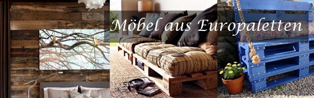Upcycled furniture - tinker garden furniture euro pallets