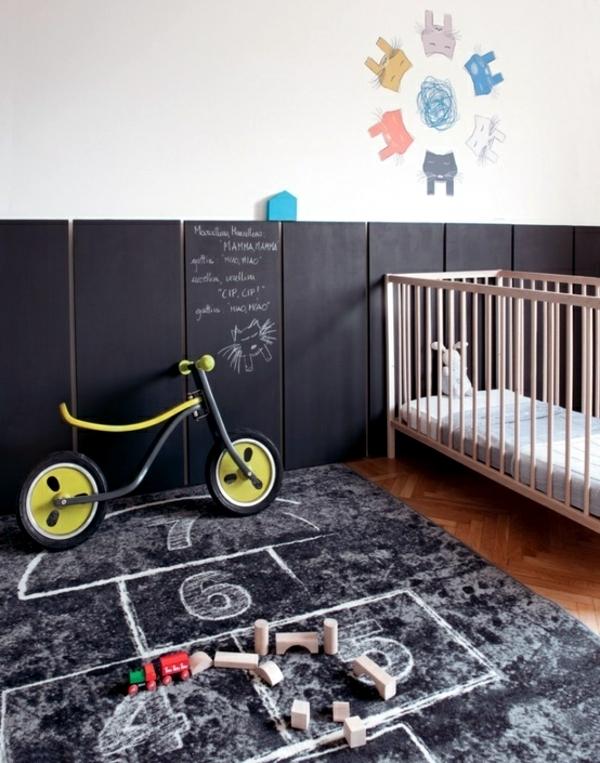 Use chalkboard paint creatively - decoration ideas for the nursery