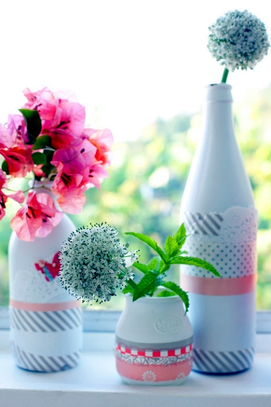 Use floral motifs Sommerdeko for fresh ideas to make your own
