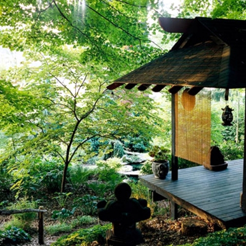 Use the main elements in japan garden for your own garden for Make your own japanese garden