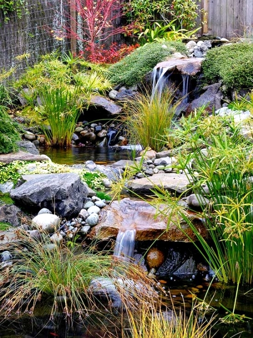 Use the main elements in Japan garden for your own garden