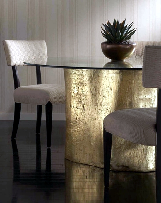 Various designer furnishings and accessories from Phillips Collection