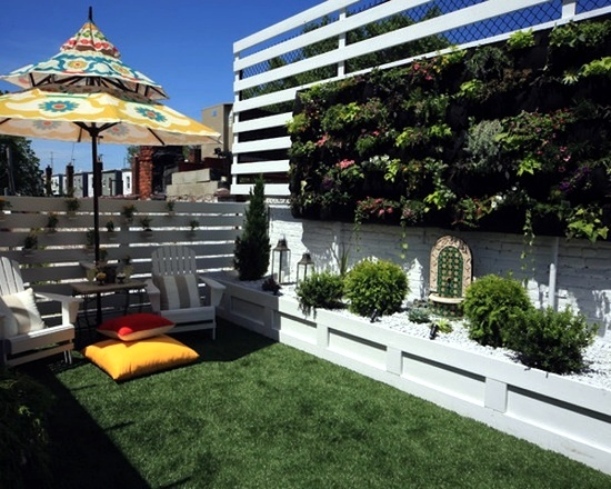 Vertical Gardens And Landscaping Ideas For Garden And