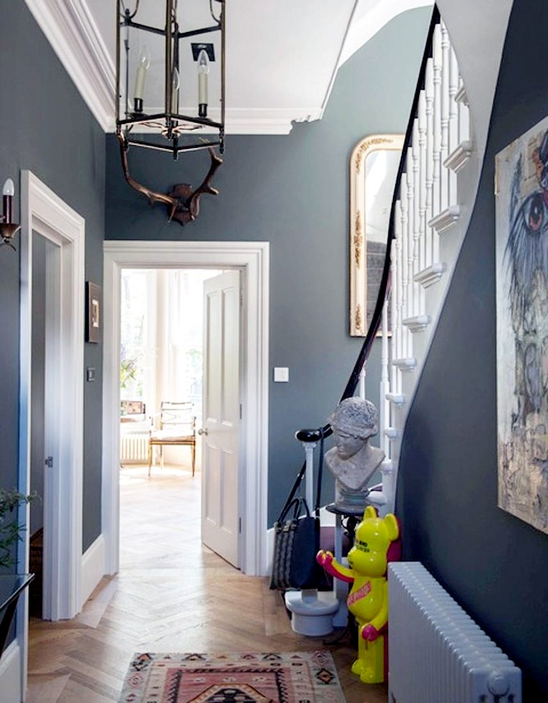 Victorian house with industrial touches