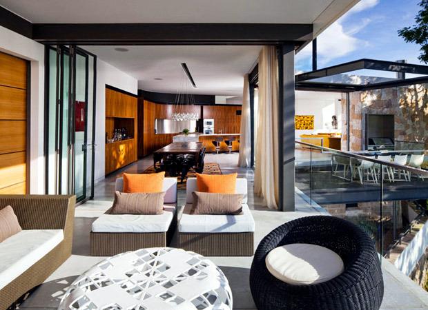 a villa style house