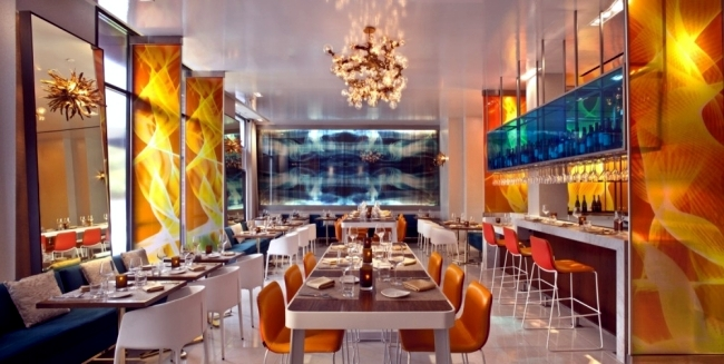 W boutique hotel in San Diego impressed with eclectic interior
