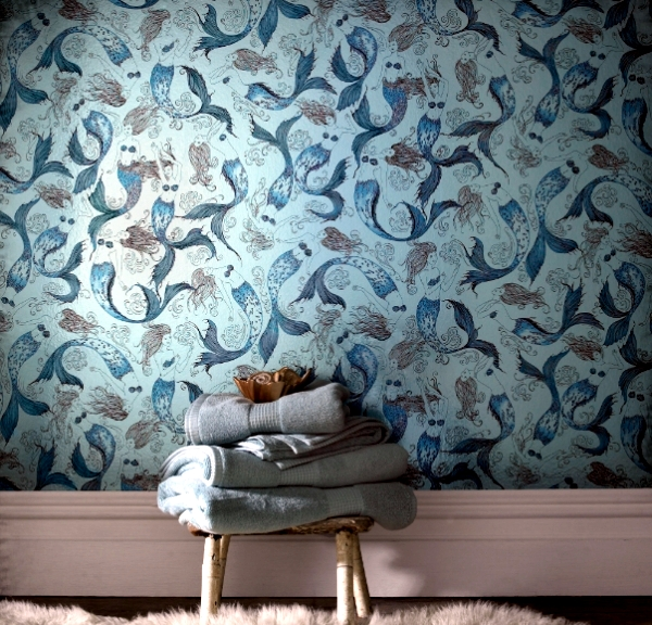 Wallpaper design from Graham & Brown kidnapped in a magic world