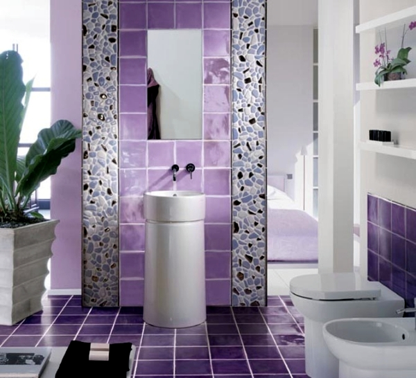 What color for the bathroom? - 20 ideas in a wide range of colors