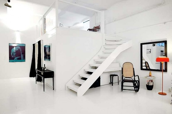 apartment interior white