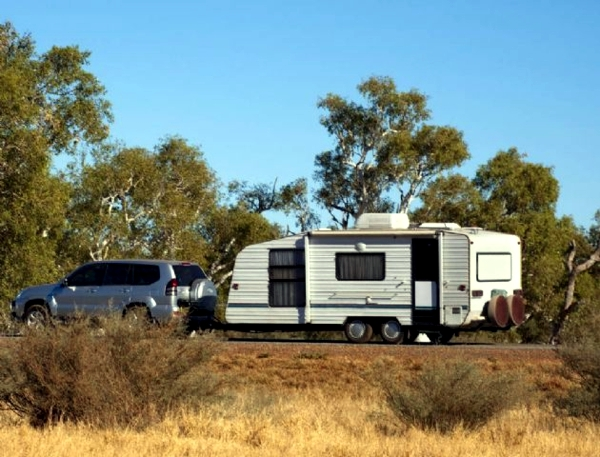With camping caravan off on vacation - planning the trip