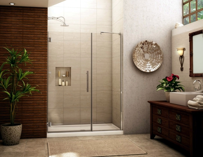 Without bathroom tiles - Ideas for Free tiles wall decoration