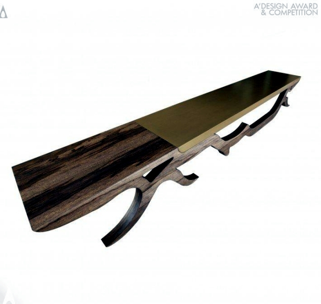 Wood Bench by Yazan Hijazin - representing motion and stillness