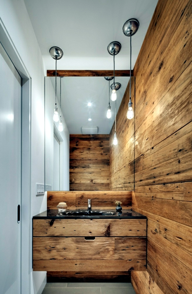 Wood Bathroom Decorating Ideas ~ Wooden bathroom design ideas for rustic