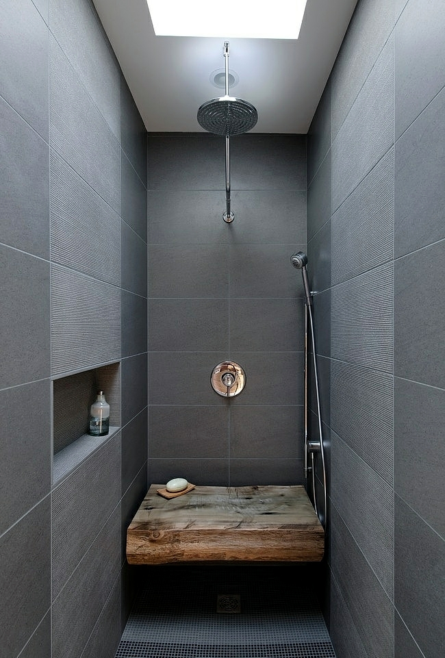 Wooden bathroom design - Ideas for Rustic Bathroom
