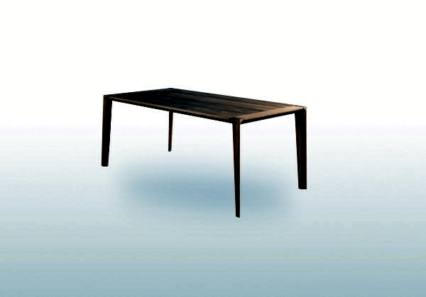 Wooden dining table charms with timeless, elegant design