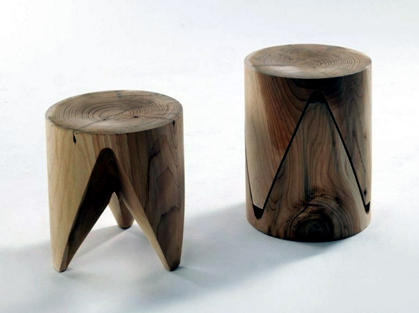 Wooden furniture - the attraction of natural wood in the facility