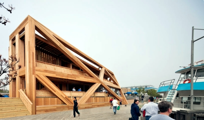 Wooden Pavilion In Iceland Pines Fire Is A Trendy
