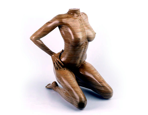 Wooden Sculptures Are Functional Furniture Design By