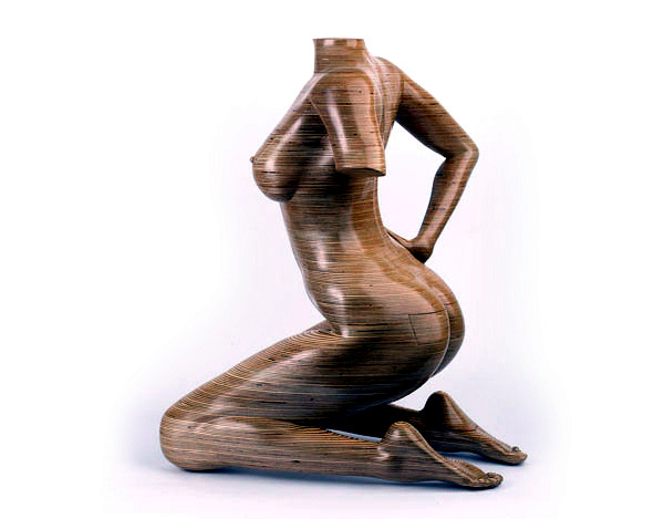 Wooden sculptures are functional furniture - Design by Peter Rolfe