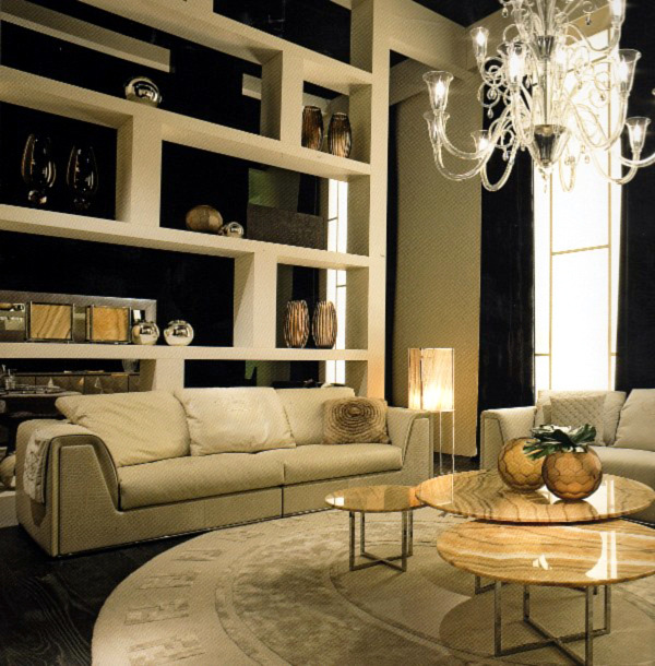 World-famous fashion designer collections and current home interior design ideas